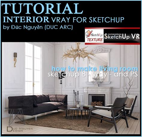 tutorial vray sketchup pdf indonesia free 3d models living room modern living room