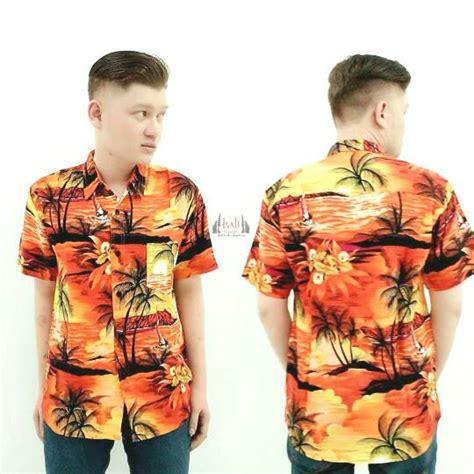 Tshirt Kaos Hawaii jual baju hawaii jual baju kemeja pantai bali pakaian