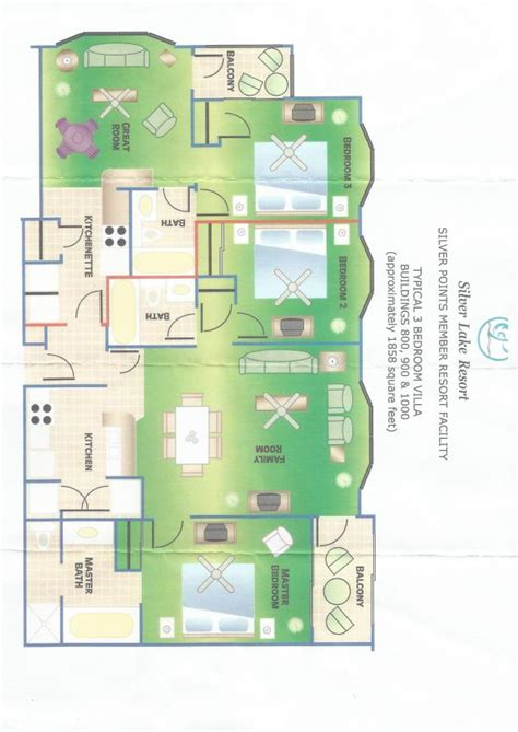 lake silver floor plan silver lake resort florida usa buy and sell timeshare