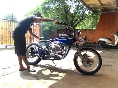 Modifikasi Vespa Lowrider by Replika Vespa Plat Vbb Maju Lancar Motor Banyuma