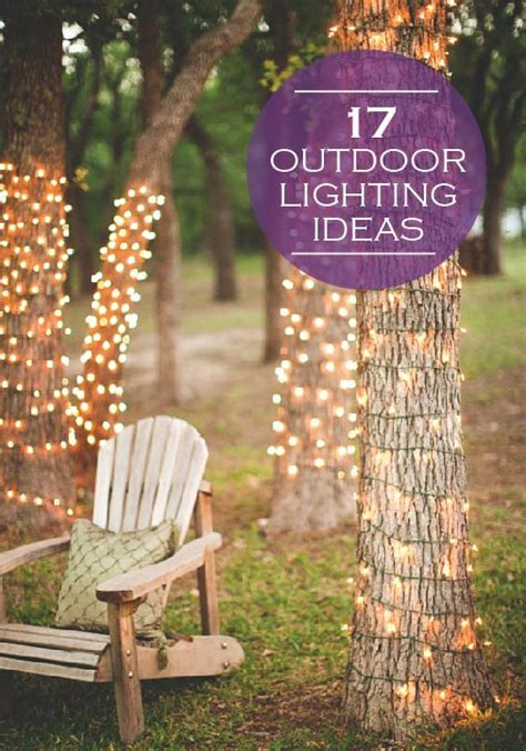 creative outdoor lighting ideas brighten up your backyard this summer with any of these 17