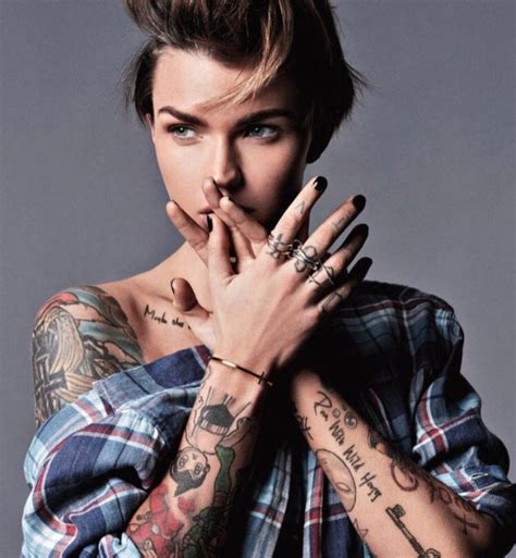 ruby rose tattoos the inspiration ruby s intriguing tattoos