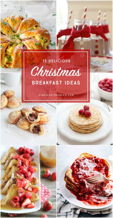 15 christmas breakfast ideas