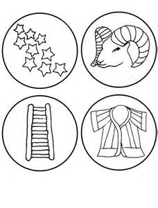 jesse tree coloring pages coloring home