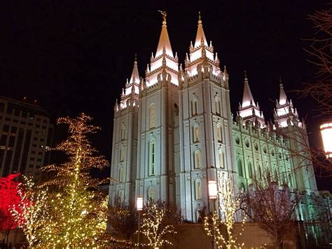 lights temple square tour temple square lights from home st george news