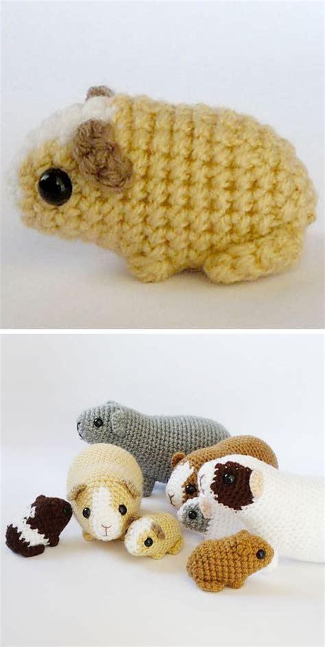 pattern crochet guinea pig diy guinea pig crochet pattern she s crafty pinterest