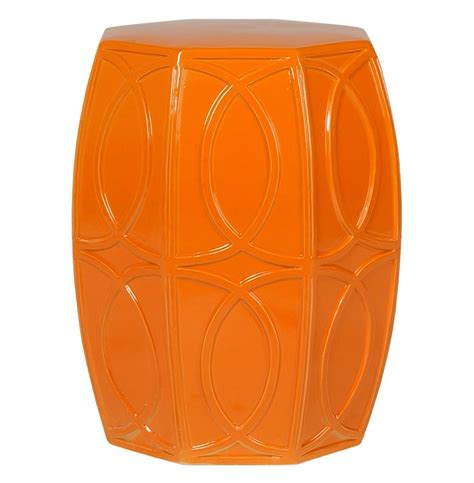 Stool Orange Color by Orange Garden Stool Color Stool Collections