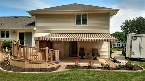 sunsetters awnings sunsetter motorized retractable awnings in la by galaxy draperies