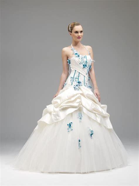 Robe De Mariée Bleu Turquoise Et Ivoire - mariage turquoise ivoire ou blanc id 233 es tenues de