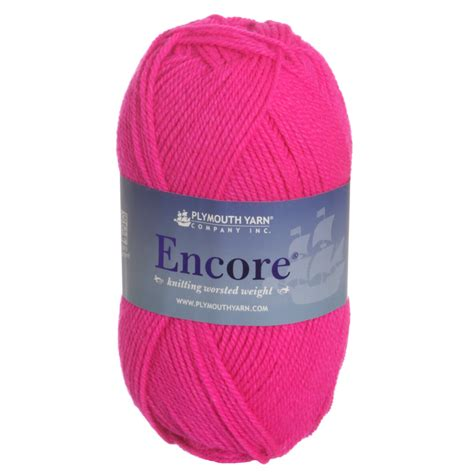 plymouth encore yarn sale plymouth encore worsted yarn 0478 neon pink reviews at