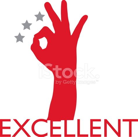 excellent sign stock vector freeimages.com