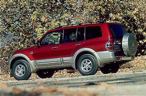 books on how cars work 2001 mitsubishi montero sport spare parts catalogs 2001 06 mitsubishi montero consumer guide auto