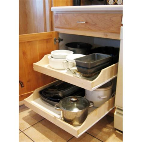 pull out shelves kitchen cabinets rolling shelves express quot pre assembled cabinet pull out