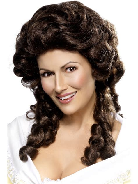 colonial hairstyles for women colonial womens hair women s brown colonial wig ladies