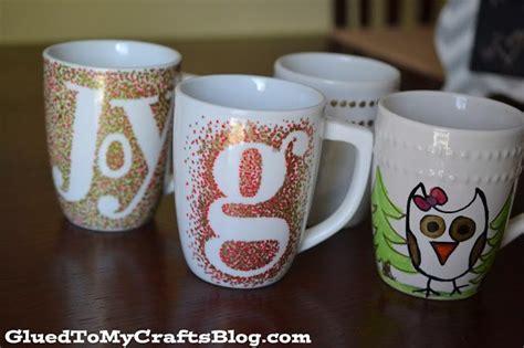diy mug design kit diy painted mugs that won t wash away craft glued to