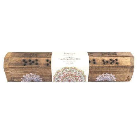 Incense Scents I by Vanilla 10 Incense Sticks Burner Gift Set Karma