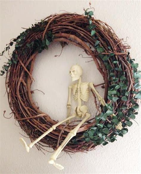 swinging bones swinging bones outdoor halloween decor clever bloom