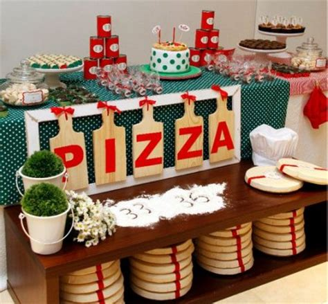 pizza party decorations pizza party table decor kids party frosting kid s pizza party inspiration ideas
