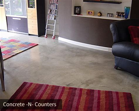 Unfinished Concrete Floor by Finished And Unfinished Concrete Concrete Floors Give A