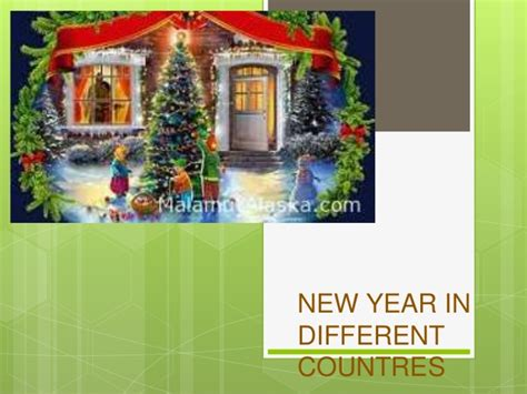 new year in different countries by aliya agayeva