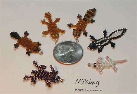 beaded animal patterns beaded animal craft 2d beaded animals 2 all of these