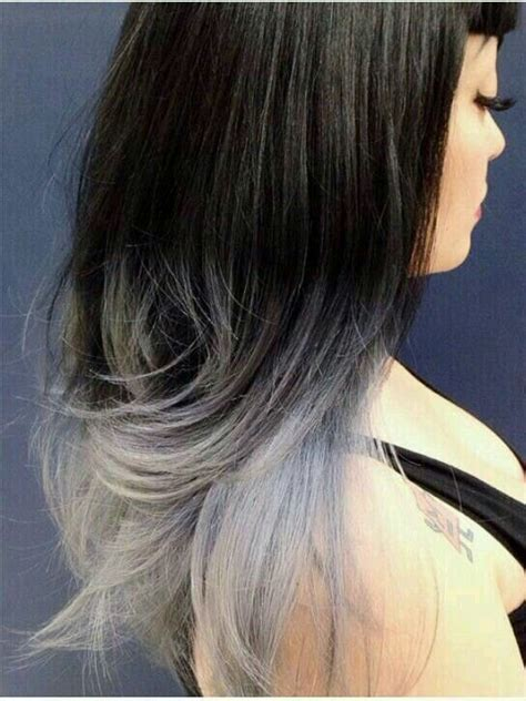 Platinum Sho Shoo Silver White Grey Ombre 25 best grey hair colour images on colourful hair human hair color and hair colours