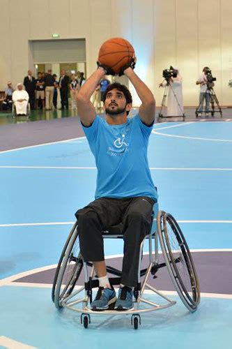 emirates wheelchair assistance hamdan plays with uae wheelchair team emirates 24 7