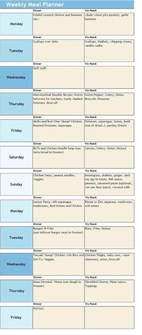 1000 Images About Meal Planner On Pinterest Monthly Meal Planner Meal Planning And Free Meal Macro Meal Planner Template