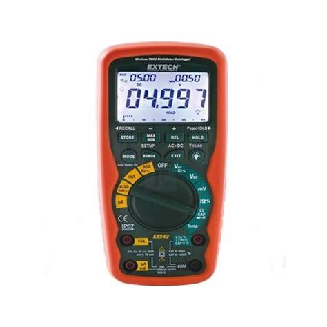 Jual Multimeter Extech harga jual extech ex542 true rms industrial multimeter
