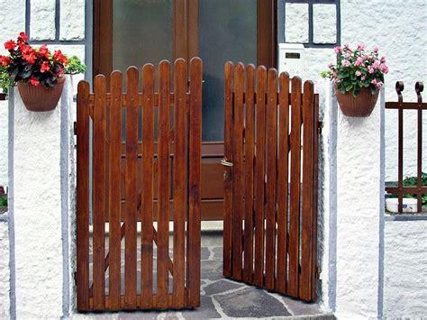 cancelletti in legno da giardino cancello in legno fai da te bricoportale fai da te e