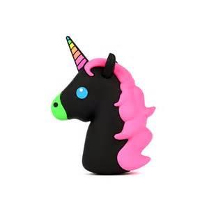 wattzup unicorn emoji portable charger fab