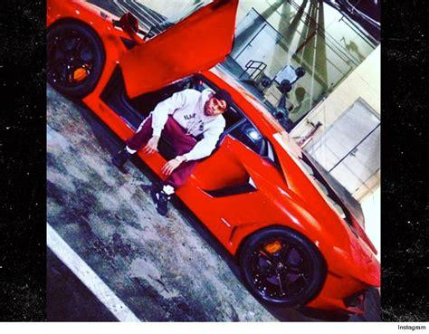 Lamborghini Car Crashes Chris Brown S Lambo Totaled In Bev Tmz
