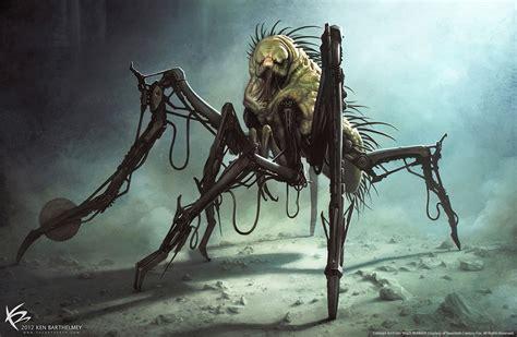 maze runner zombie film the art of ken barthelmey creature designer concept