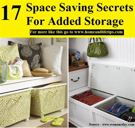 22 space saving storage and oragnization ideas for small 17 space saving secrets for added storage home and life tips