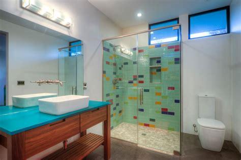 Colored Bathroom Designs by 18 Subway Tile Bathroom Designs Ideas Design Trends
