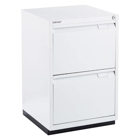 White Filing Cabinet 2 Drawer Bisley White Premium 2 Drawer Locking Filing Cabinet The Container Store