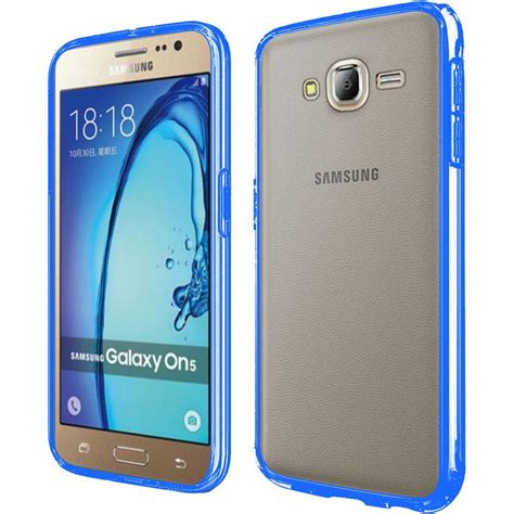 Samsung On5 by For Samsung Galaxy On5 G550 Slim Clear Transparent Pc Tpu Cover Ebay