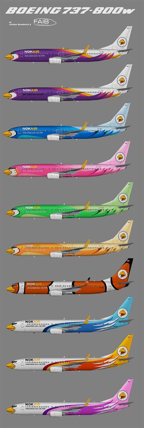 Home Design Diy Nok Air Boeing 737 800w Pictures
