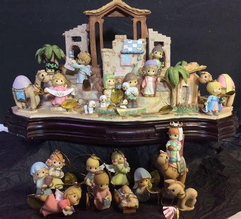 hawthorne village holy family nativity porcelain