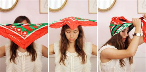 tutorial turban bandana oh the lovely things how to tie a turban with a square scarf