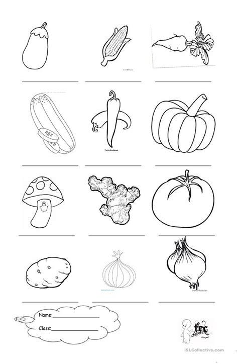 printable coloring pages esl vegetables coloring worksheet free esl printable