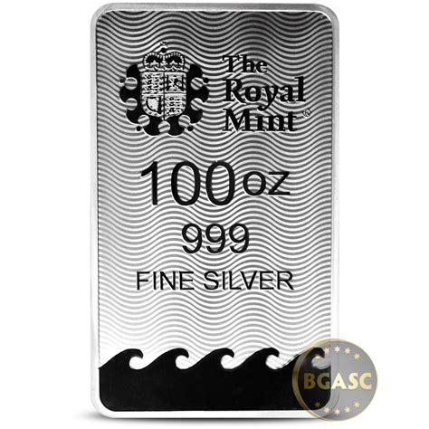 10 oz royal canadian mint silver bar 999 buy 100 oz silver bar royal mint britannia 999