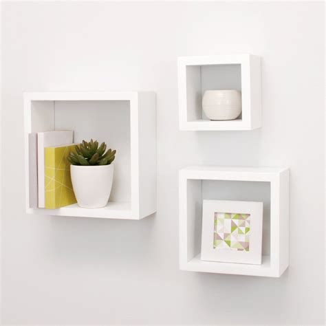 187 Top 15 Floating Wooden Square Wall Shelves To Buy Online Square Floating Shelves