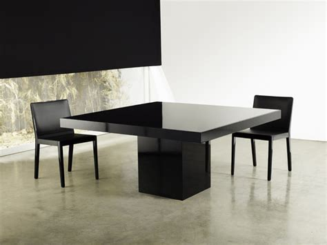beech square dining table modern dining tables los angeles  viesso