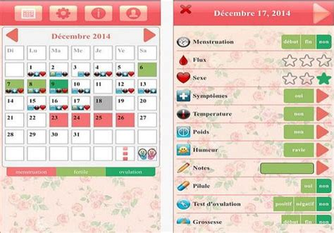 t 233 l 233 charger calendrier d ovulation et r 232 gles ladytimer ios