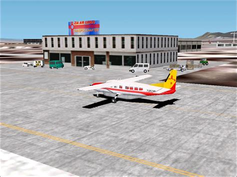 zia air cargo new mexico routes package for fs2002