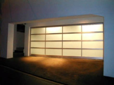architectural glass garage doors