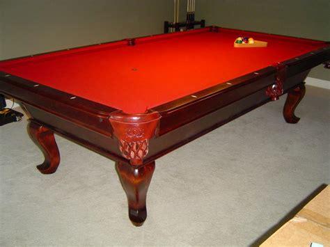 used slate pool tables 9 foot slate pool table price reduced further oak bay