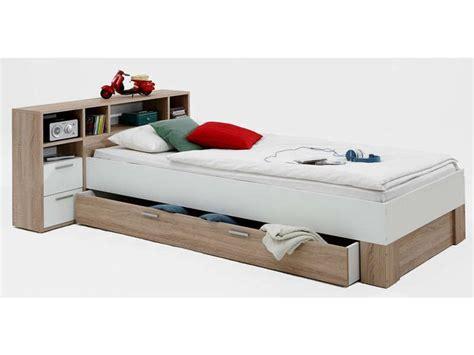 futon bett 90x190 lit compact 90x200 cm prix promo lit enfant pas cher
