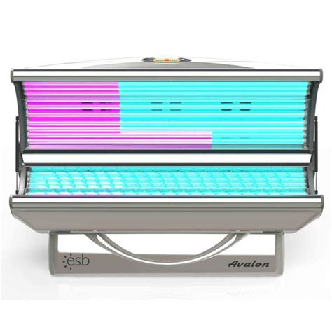 esb tanning bed esb avalon 24 tanning bed lowest price free shipping